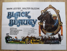 Black Beauty (1971) Film Poster Mark Lester (Colour Style)- UK Quad